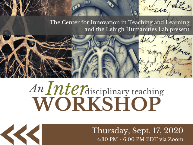 An Interdisciplinary Workshop, Thursday, September 17, 2020