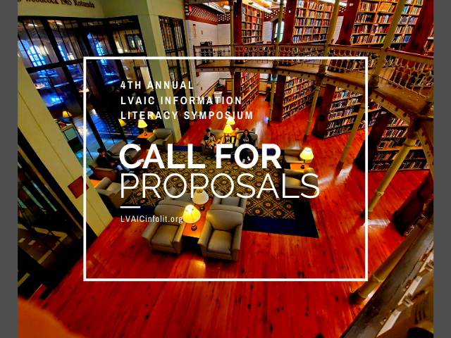Call for proposals LVAIC Information Literacy Symposium