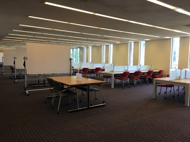 EWFM 6th floor study and collaboration space