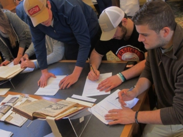 Following the stars in Special Collections
