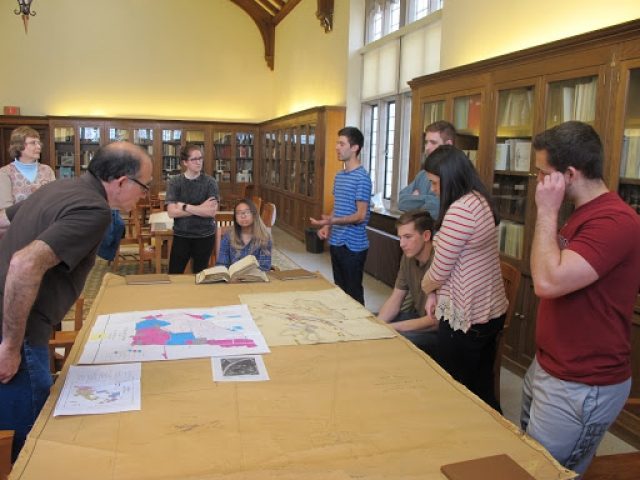 Academic and Community Partners Mine Historic Maps to Establish Heritage Park: Preservation of the Friedensville Mine Site President Pump Engine House