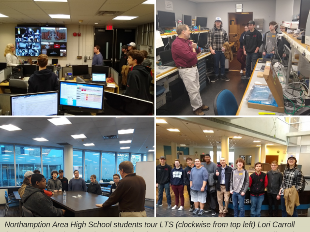 Northampton Area School District Take a Tour with LTS photo collage