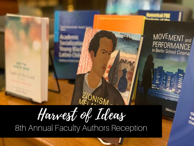 2019 Harvest of Ideas Faculty Authors Reception