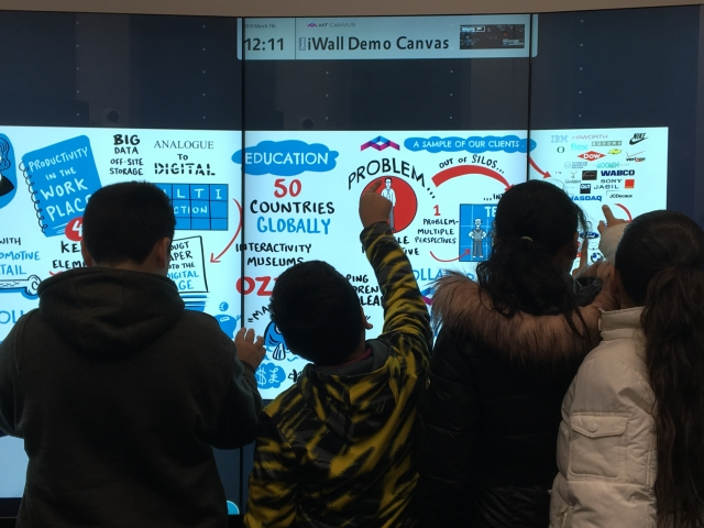 Raub Middle School students explore Lehigh VR lab