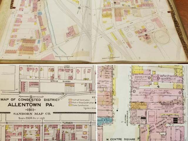 Allentown Sanborn Map