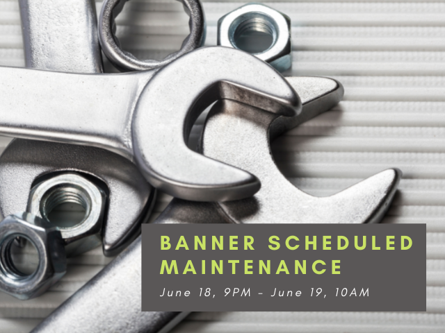 LTS Banner system maintenance with image of wrenches