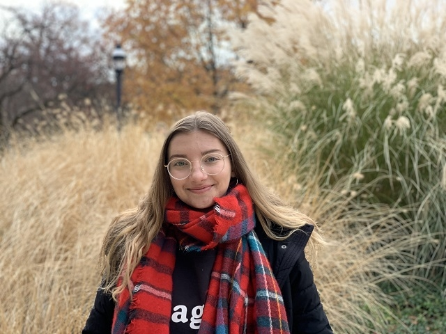 Michelle Modzelewska '20 at Lehigh University