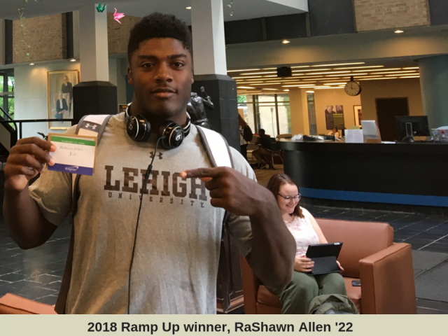 photo of RaShawn Allen 2018 Ramp Up winner