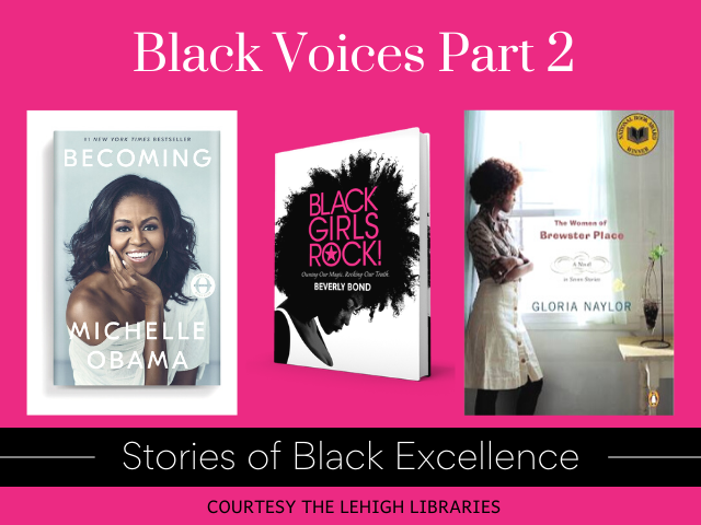 Black Voices Part 2: Stories of Black Excellence OverDrive collection from Lehigh Libraries