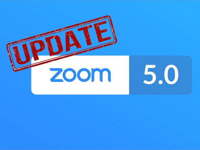 Zoom 5.0 update