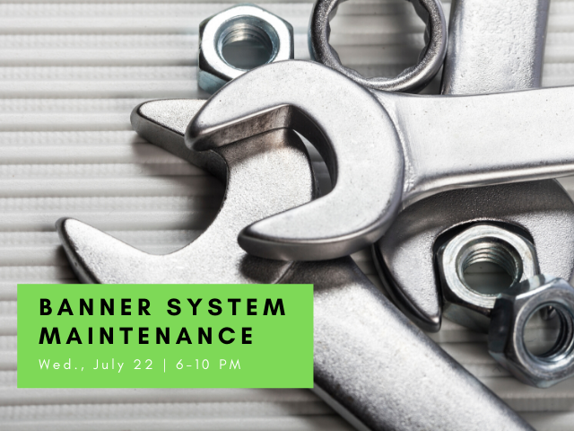 Banner system maintenance image of wrenches