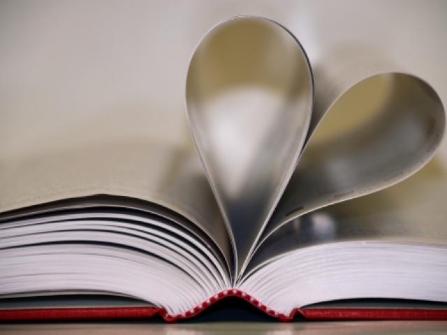heart in book