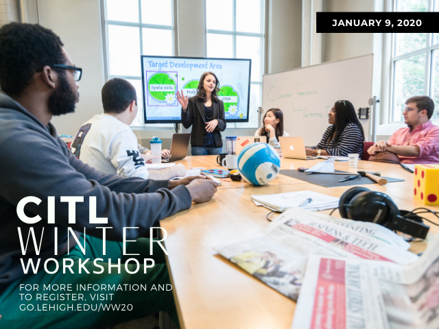 CITL Winter Workshop 2020