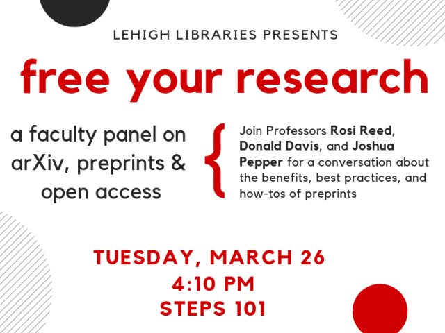free your research flyer