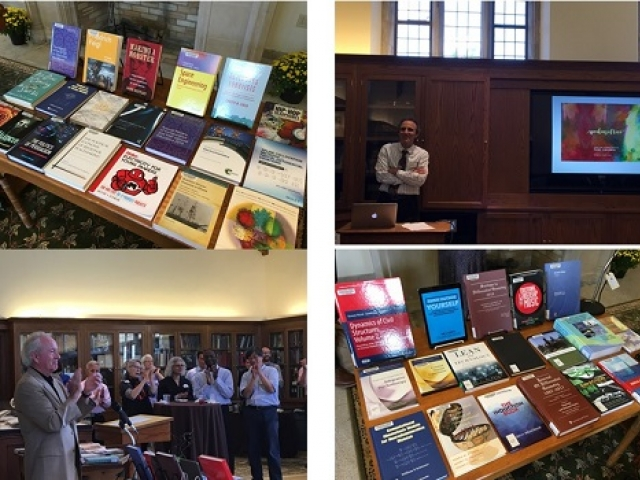 2017 harvest of ideas faculty author reception