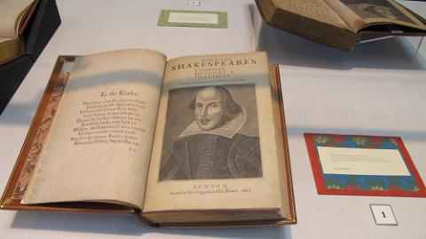 Lehigh University Special Collections features Shakespeare's folios