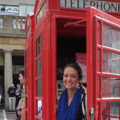 Alexandria Yeager in Trafalgar Square