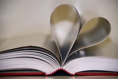 heart in book