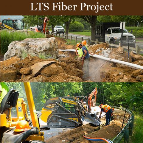 LTS campus fiber project