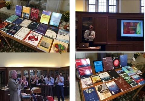 2017 harvest of ideas faculty author reception