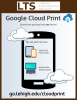 Google Cloud Print infographic